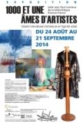 """""""1000 et une âmes d'artistes"""" exposition collective Québec-France en art figuratif du 24 août au 21 septembre 2014 l"""